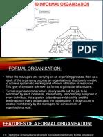 Formal and Informal Organization