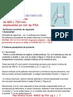 5. PROBE Scara Acces Pe Platforma Tip PSA