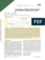 Rigorous Design and Optimization of Meth