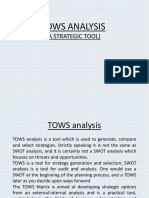 PPT on TOWS analysis.pptx