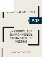 Un Council for Environmental Sustainability