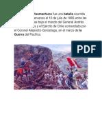 La batalla de Huamachuco.docx