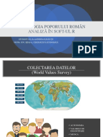 PSIHOLOGIA POPORULUI ROMÂN