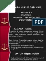Negara Hukum Dan Ham the Real