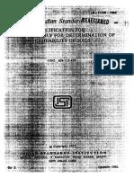 IS 11209  - 1985 Permeability of Soil.pdf