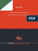 LION Presentation Template 4x3