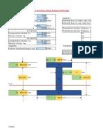 Design of Unsymmetrical I-Section(Balanced Design)