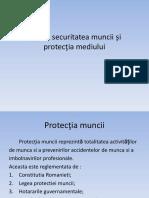 Igiena Securitatea Muncii Si Protectia Mediului