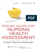 Pocket Guide for Nursing Health Assessment - S. Jensen (Lippincott, 2011) WW