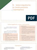 interogatorio instru
