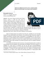 41 Ruxandra Ionescu Între logică internă și ambiguitate în actul comunicării – o analiză a limbajului elevei din Lecția de Eugen Ionescu