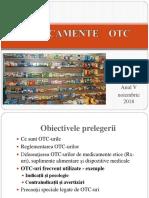 Medicamente OTC Curs 2018