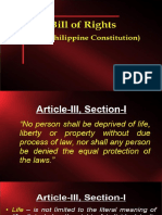 Lecture 3 Bill of Rights