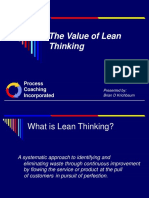 Lean Manufacturing Overview