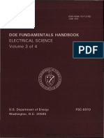DC Fundamentals Handbook electrical science volume 3 of 4