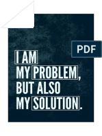 I am my Problem