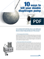 10 Ways to kill your diaphragm pump