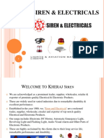 Siren Electricals Kheraj Siren Dealer Chennai
