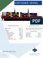 1000 TEU Container Ship