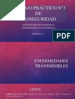Leyes de Enfermedades Transmisibles y No Transmisibles