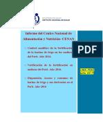Verificación de La Fortificación en Molinos Del Perú. Año 2012.AÑOS 2013-2014