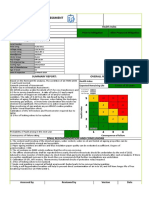 Sample Transformer Life Assessment Sheet