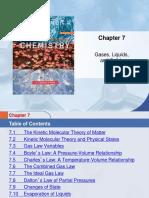 1 Kinetic Molecular Model