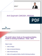 Draft Labour Code on OHS-PPT