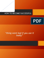 HOW TO BECOME SUCCESSFUL.pptx