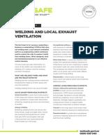 WKS 6 Welding Local Exhaust Ventilation