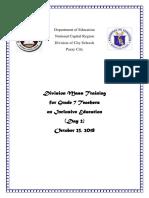 Documentation Day2