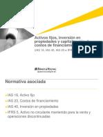 Modulo 11. Activo Fijo, Inv en Prop Capit Costos Finan (IAS 40, 23, IfRS 5) ACTUALIZADO