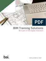 BSI BIM Training Brochure en AE