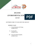 Environmental Science Report