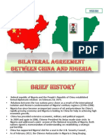 the bilateral agreement between china and china
