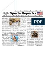 July 3 - 9, 2019  Sports Reporter