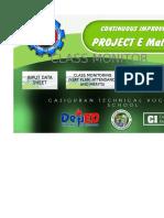 E Math Pro Class Monitoring Tool (Version 1)