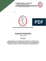 Plan Pasantía 2019