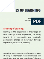 Theories of Learning[1]