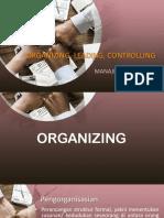 Organizing Leading Controlling