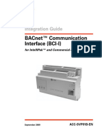 BACnet Communication Interface (BCI-I)