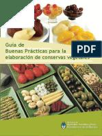 BUENAS PRACTICAS PARA LA CONSERVACIÓN DE FRUTAS Y VERDURAS