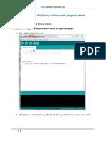 Cara menambahkan file library Arduino pada program sketch Arduino.pdf
