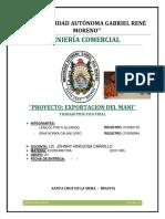 Exportacion Del Mani
