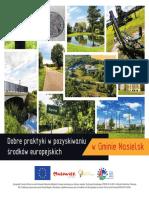Dobre Praktyki w Pozyskiwaniu Środkow Europejskich w Gminie Nasielsk