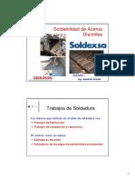 1.- Charla Ing. Abelardo Acosta - Soldabilidad de Aceros Disimiles