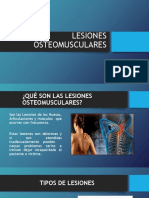 PRESENTACION LESIONES OSTEOMUSCULARES