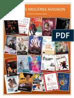 Catalogue Des Spectacles pour Vote - Petits Molières - Avignon 2019