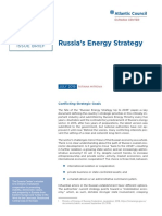 Russia's Energy Strategy