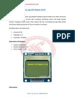 Interfacing Arduino Dg LCD Nokia 5110
